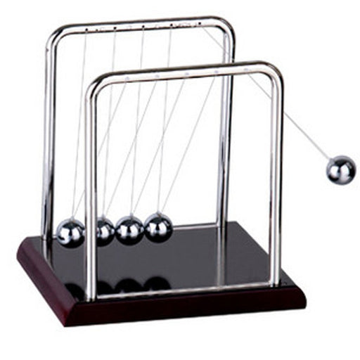 Newtons Cradle Steel Balance Ball Physics Pendulum P0.21