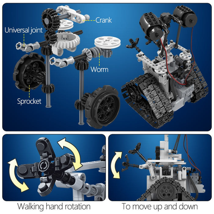 408PCS Creative RC Robot Building Blocks - Gadget World