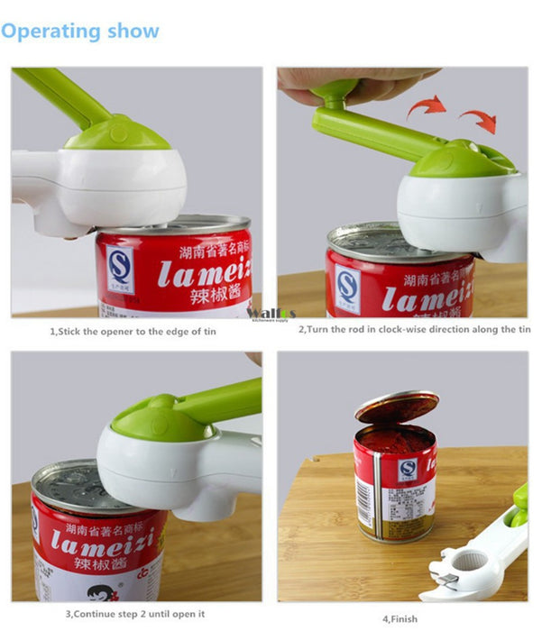 6 Ways Universal Can Opener For Opening Jar Can Bottle - Gadget World