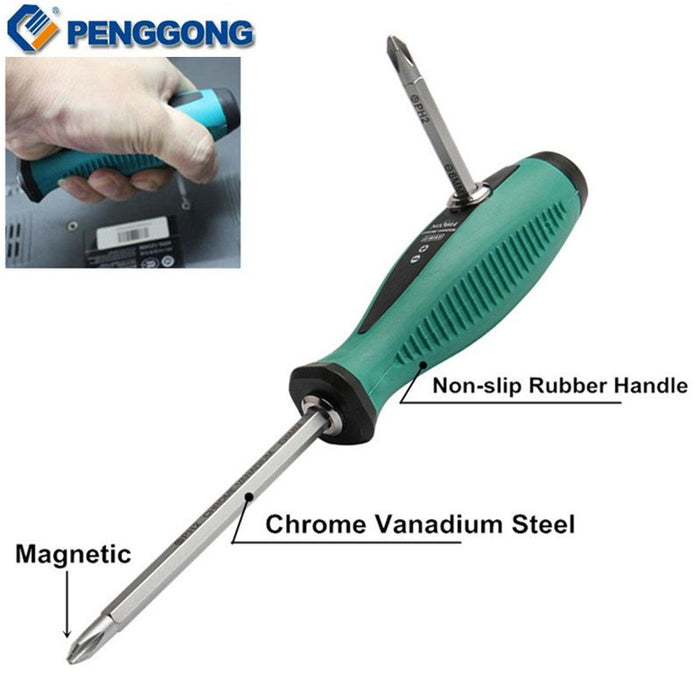 Magnetic Slotted Phillips Star Home Appliances Repair Multi Function Hand Tool Set - Gadget World