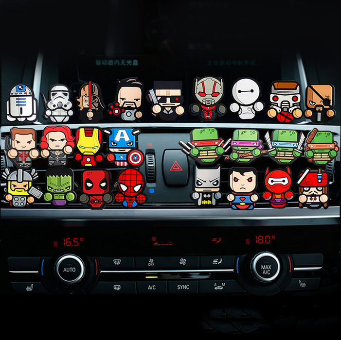 Marvel Avengers Action Figures Car Air Fresheners
