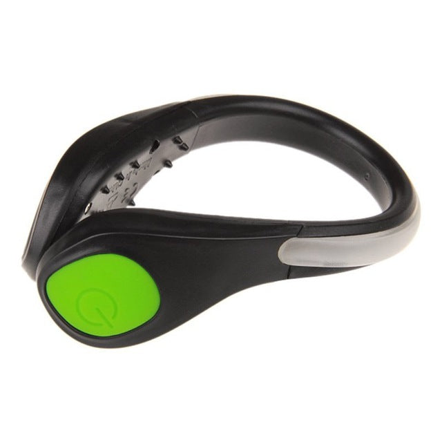 Outdoor Bicycle Bike LED Luminous Safety Night Running Shoe Clips - Gadget World