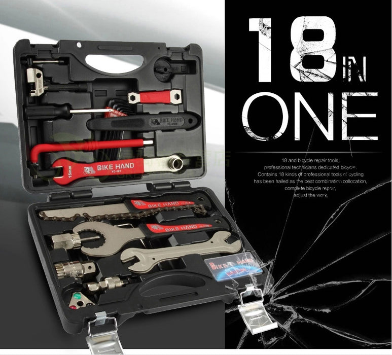 18-In-1 Multi Bicycle Tools Kit