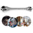 Household Socket Wrench 8-In-1 Spanner Key - Gadget World
