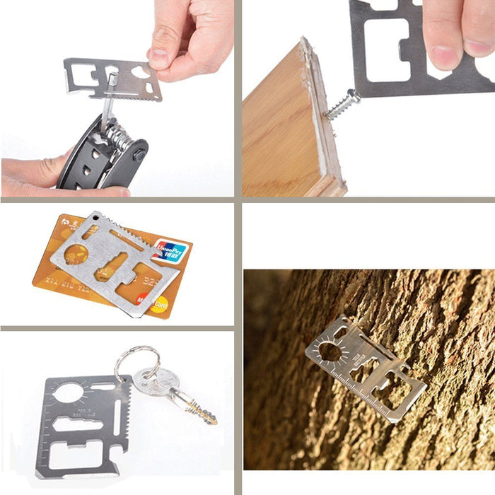 11-In-1 Multifunctional Pocket Credit Card - Gadget World
