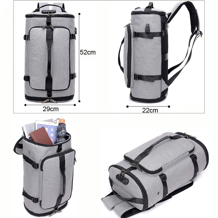 USB Anti-Theft Backpack Travel Bag - Gadget World