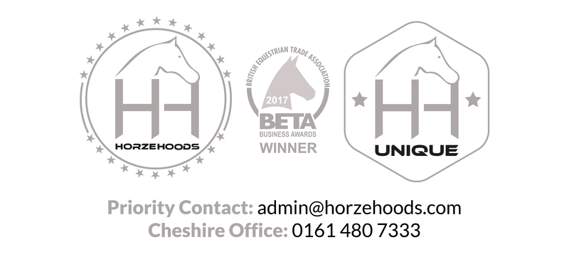 Horzehoods has a proven record of innovative designs in horse wear & hoods with exceptional fit,  attention to detail with goals to meet and exceed expectation.