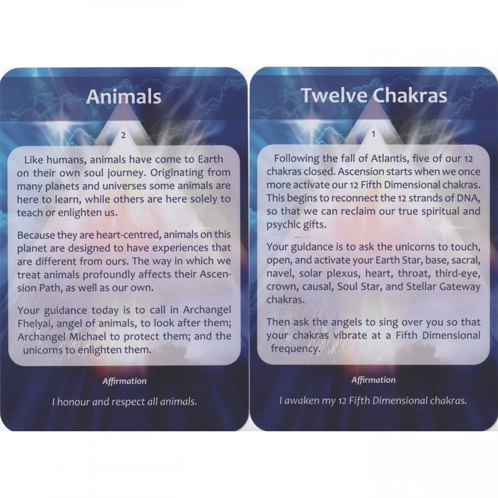 Ascension - Oracle cards