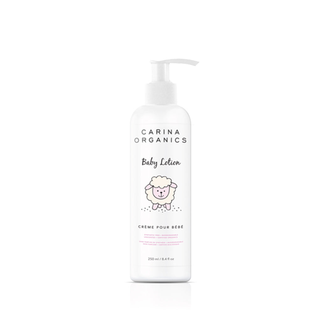 Baby Lotion 250ml-Carina Organics-Live in the Light