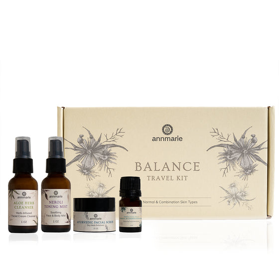 Travel Kit Box Balance - Normal & Combination Skin Care