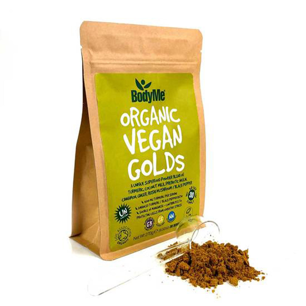Organic Vegan Golds Powder from BodyMe