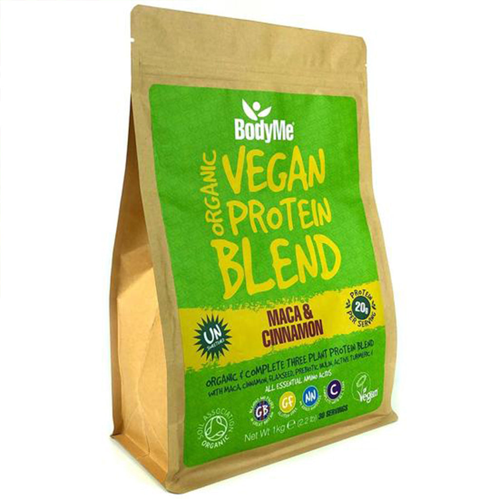 Organic Vegan Protein Blend from BodyMe  - Maca & Cinnamon