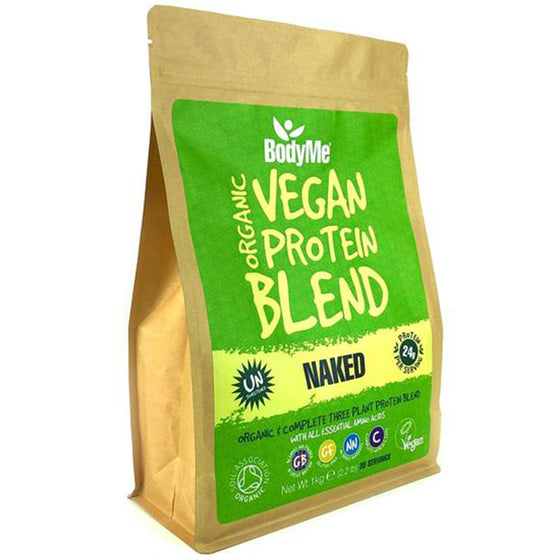 Organic Vegan Protein Blend from BodyMe  - Naked
