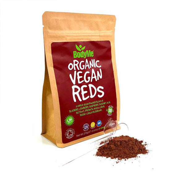 Organic Vegan Reds Powder from BodyMe