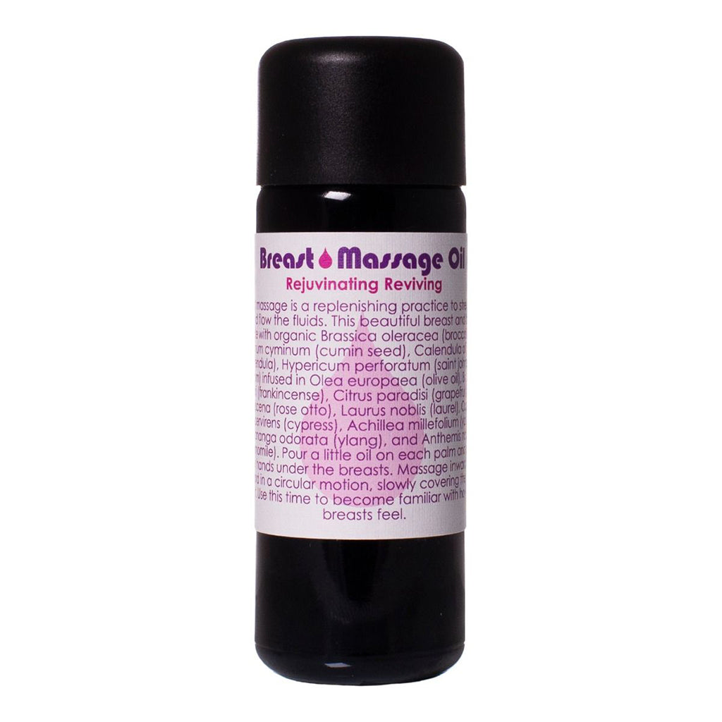 Living Libations Breast Massage Oil