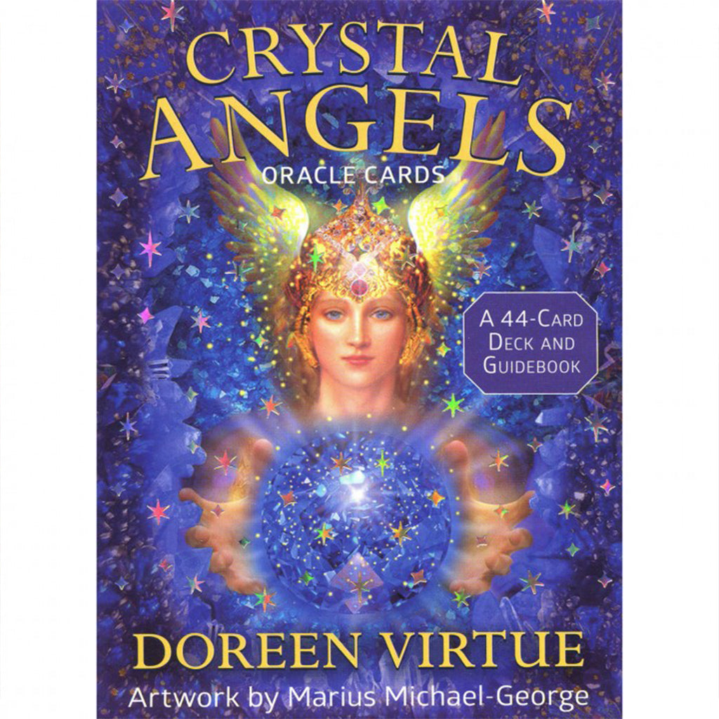 Crystal Angels - Oracle cards-Holistic-Live in the Light