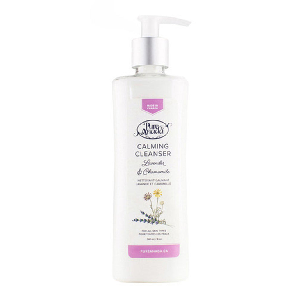 Calming Cleanser - Lavender & Camomile 240ml-PureAnada-Live in the Light