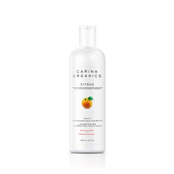Citrus Daily Moisturising Shampoo 360ml-Carina Organics-Live in the Light