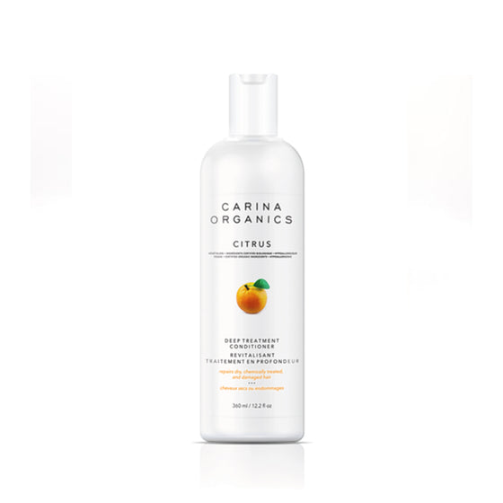 Citrus Deep Treatment Conditioner 360ml-Carina Organics-Live in the Light
