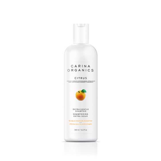 Citrus Extra Gentle Shampoo 360ml-Carina Organics-Live in the Light