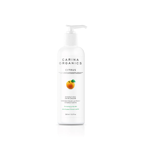 Citrus Hydrating Skin Cream 360ml-Carina Organics-Live in the Light