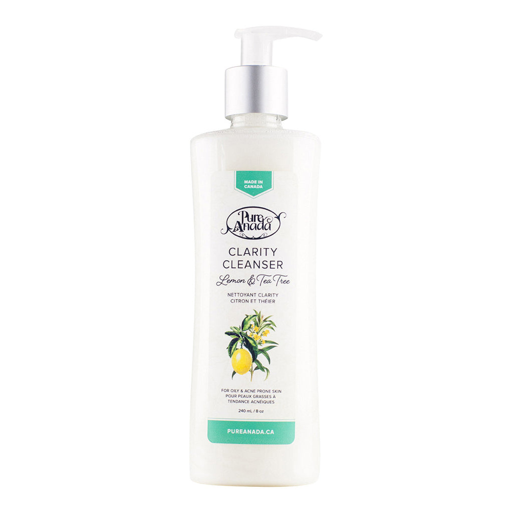 Clarity Cleanser - Lemon & teatree 240ml-PureAnada-Live in the Light