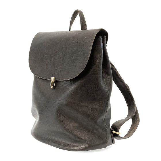 Colette Backpack - Metallic Hematite