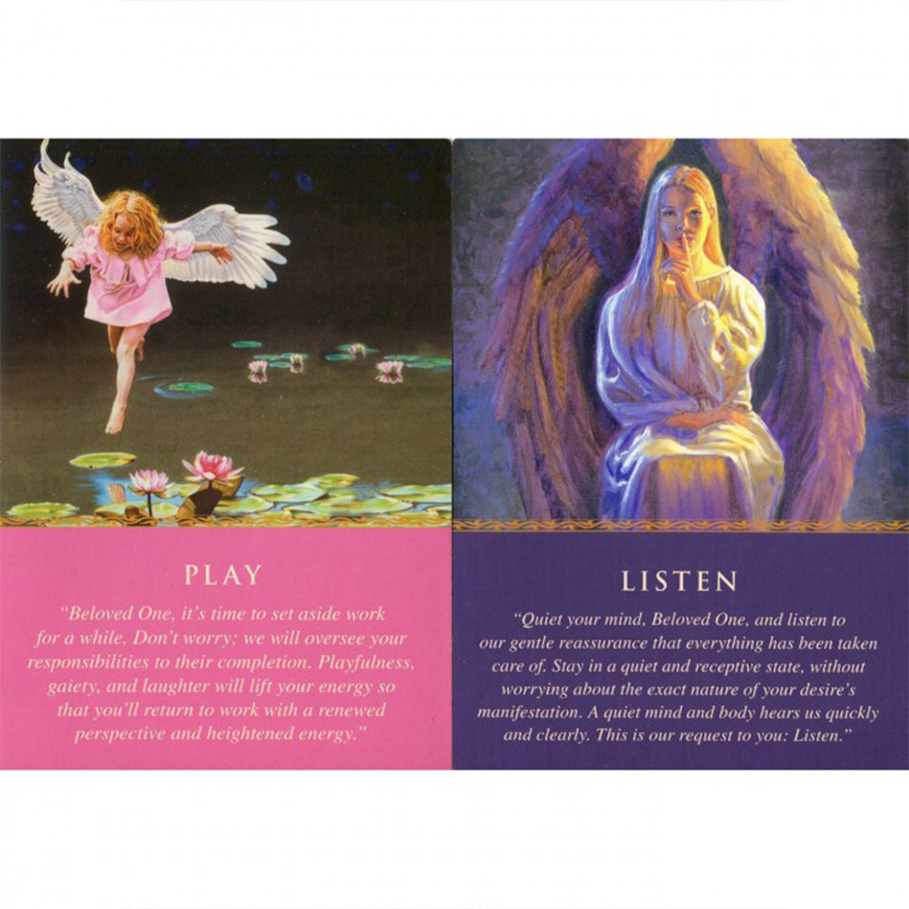 Daily Guidance from your Angels - Oracle cards-Holistic-Live in the Light