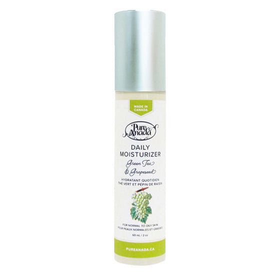 Daily Moisturiser - Green Tea & Grapeseed 60ml