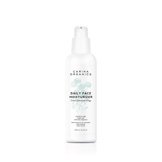 Daily Face Moisturiser 120ml-Carina Organics-Live in the Light