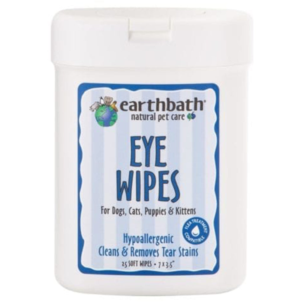 Earthbath Eye Wipes - 25's-Earthbath-Live in the Light
