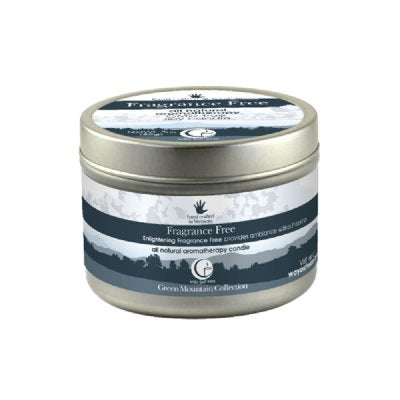 Fragrance Free Medium Tin 3oz-Way Out Wax Candles-Live in the Light