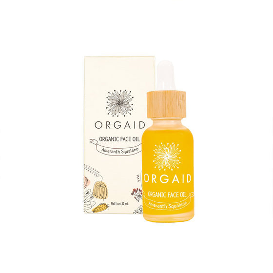 Orgaid Organic Face Oil - Amaranth Squalene - 30ml