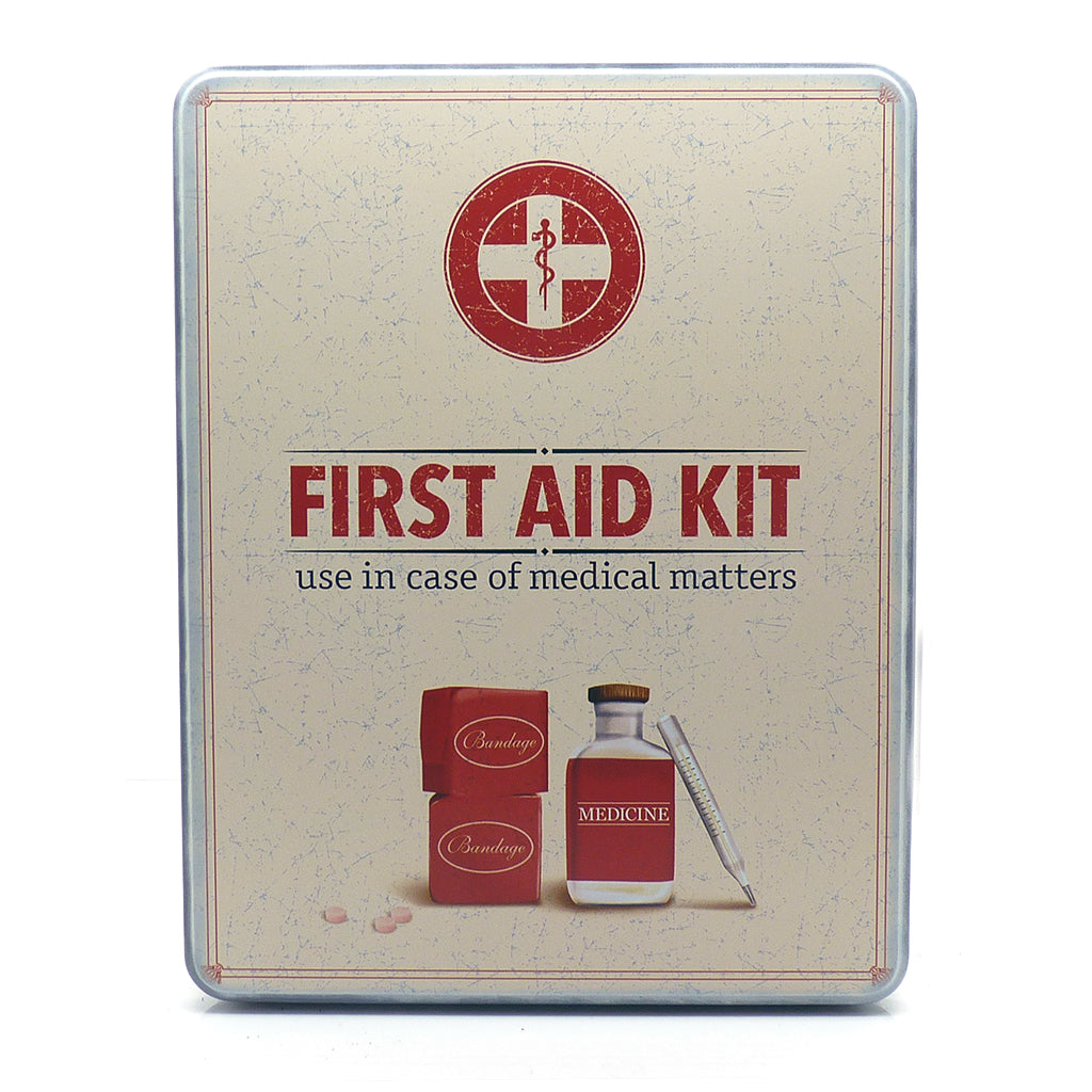 First Aid Kit in Retro Tin