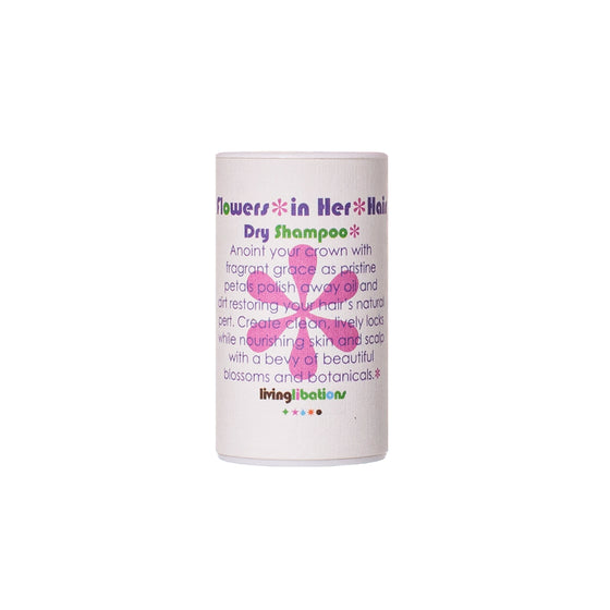 Living Libations Flowers In Her Hair Dry Shampoo 30ml