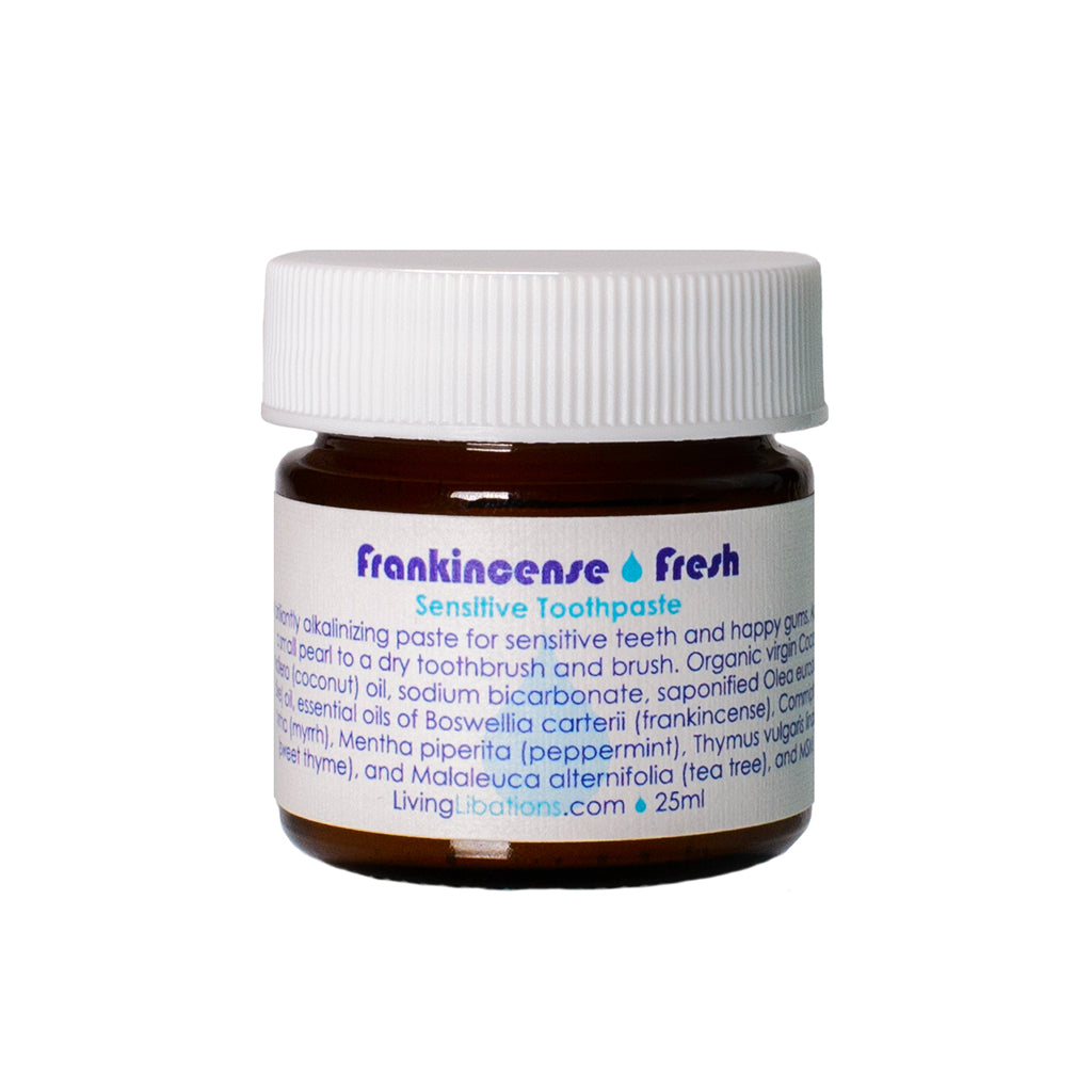 Living Libations Frankincense Fresh Toothpaste 25ml