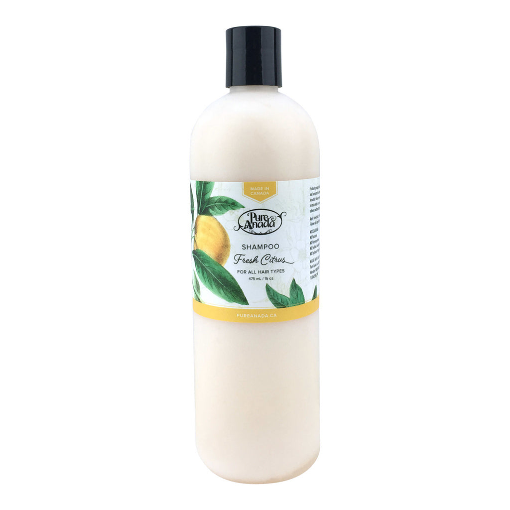 Fresh Citrus Shampoo 475ml-PureAnada-Live in the Light