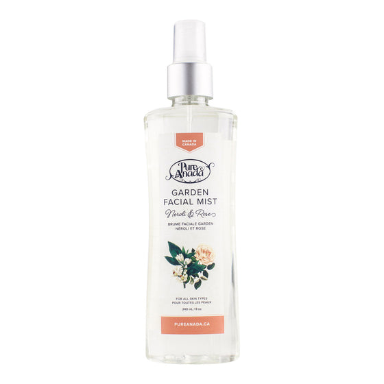 Garden facial Mist - Neroli & Rose 240ml-PureAnada-Live in the Light