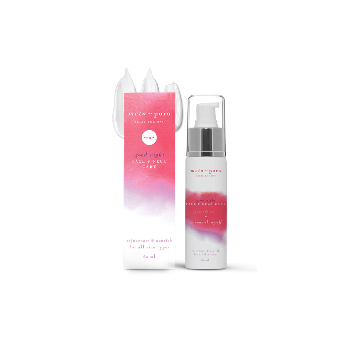 Good Night Face & Neck Cream 60ml-meta~pora-Live in the Light