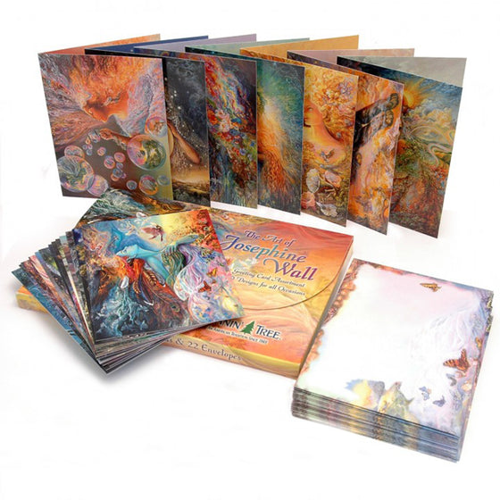 Set of 20 Greetings Cards by Josephine Wall