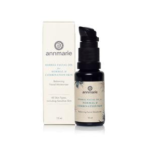 Herbal Facial Oil for Normal and Combination Skin 15ml-AnnMarieGianni-Live in the Light