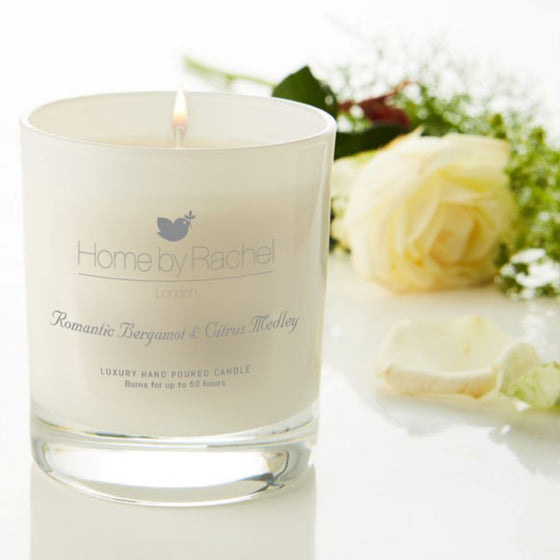 Romantic Bergamot & Citrus Medley Luxury Candle 300ml