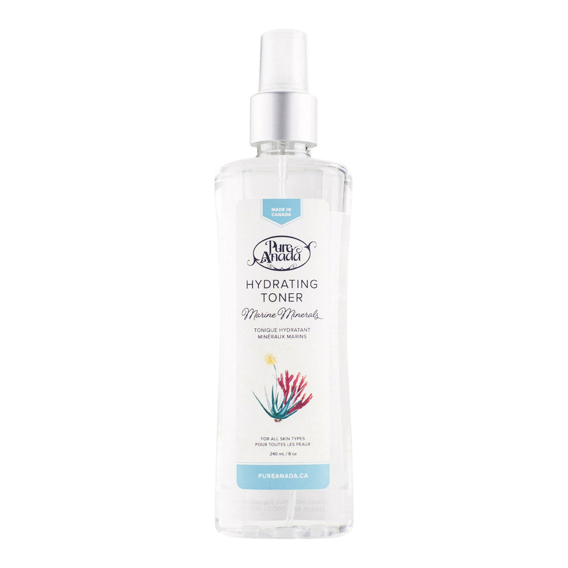 Hydrating Toner - Marine Minerals 240ml-PureAnada-Live in the Light