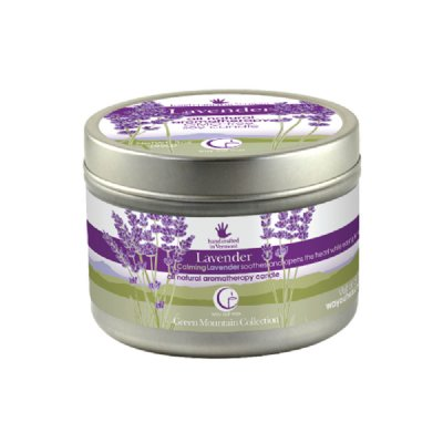 Lavender Large Tin 6.7oz-Way Out Wax Candles-Live in the Light