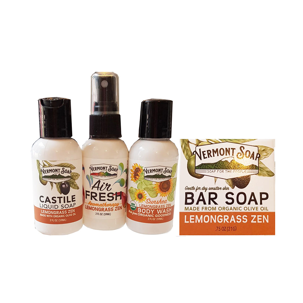 Lemongrass Travel Kit - Vermont Soap
