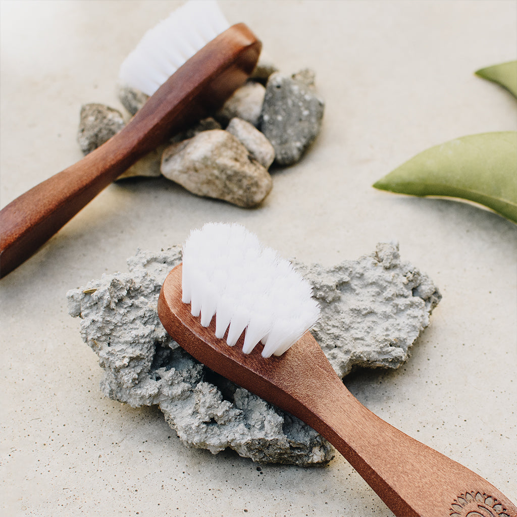Lotus Wood Exfoliating Brush