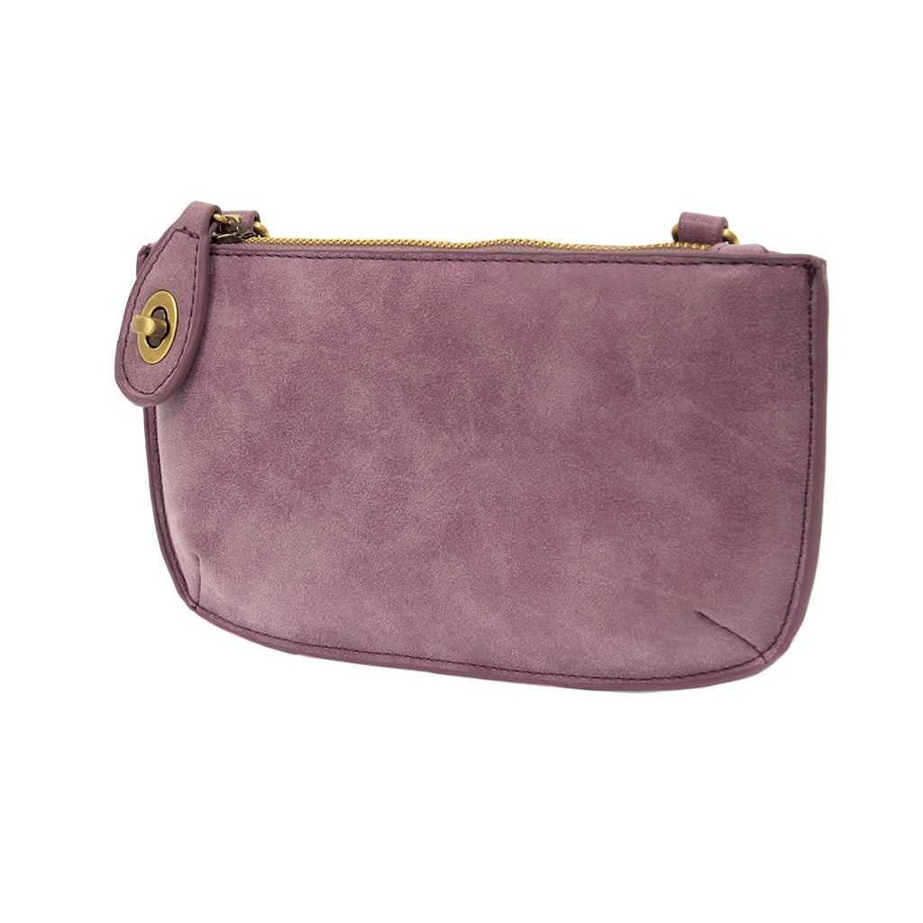 Lux Cross Body Wristlet Clutch - Orchid