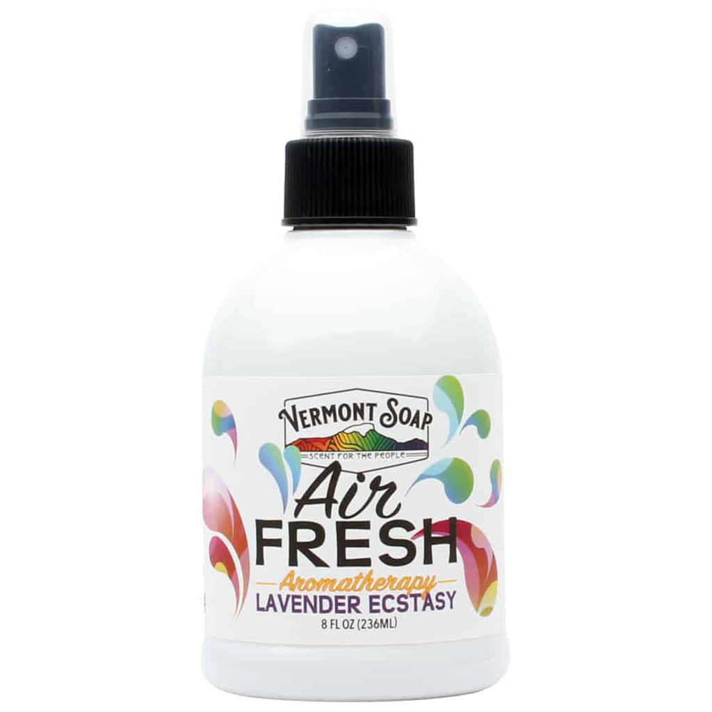 Air Fresh Aromatherapy Spray Mister - Lavender Ecstasy-VERMONT SOAP-Live in the Light