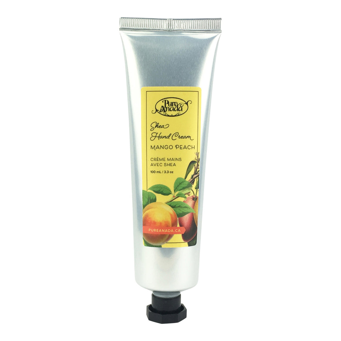 Mango Peach Shea Hand Cream 100ml-PureAnada-Live in the Light