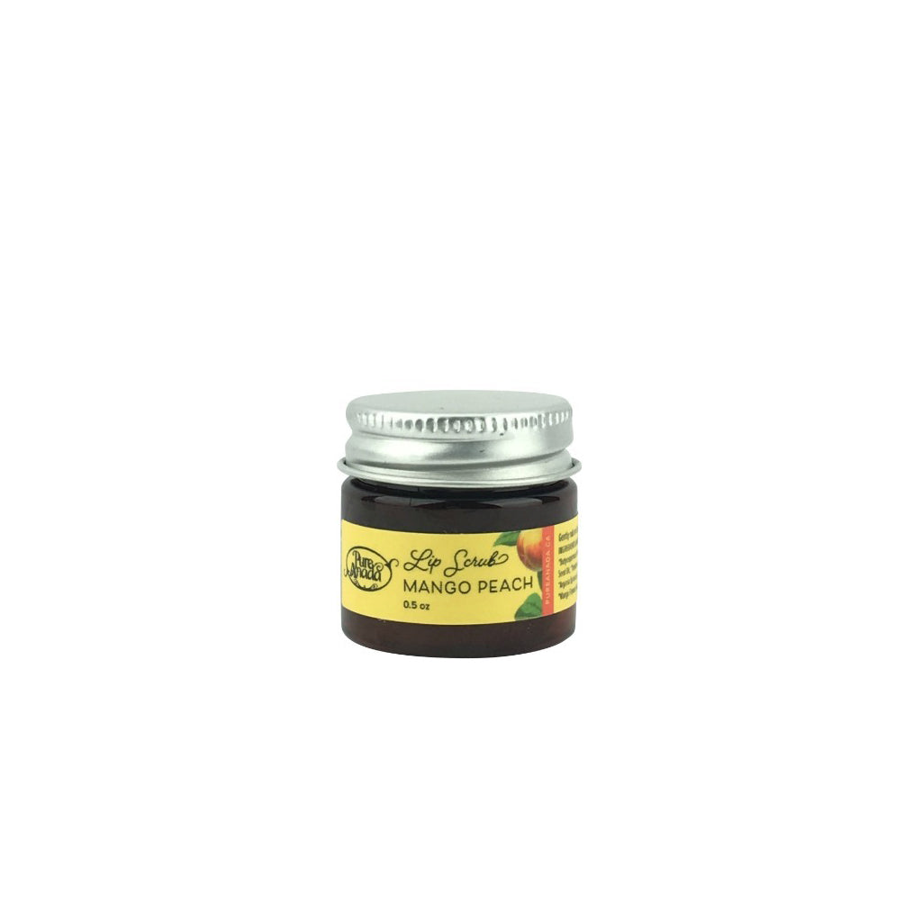 Mango Peach Lip Scrub 0.5oz-PureAnada-Live in the Light